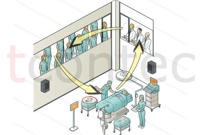 tcontec-proje-hastane-doktor-stajyer-egitim-personel-simultane-anlatim-dinleme-kulaklik-mikrofon-ameliyat-ekipman-fiyat-kiralama